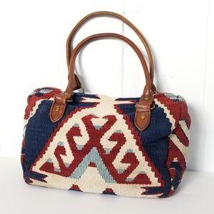 Matt Camron | Vintage Turkish Kilim Handbag Boho